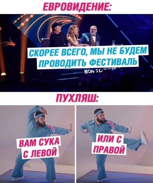 Прикольная картинка Евровидение и Пухляш