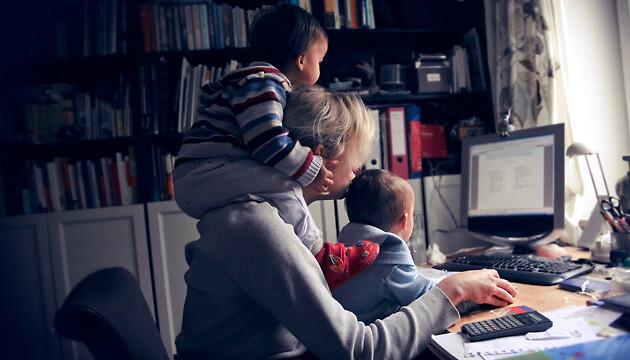 Прикольная картинка Работа с детьми